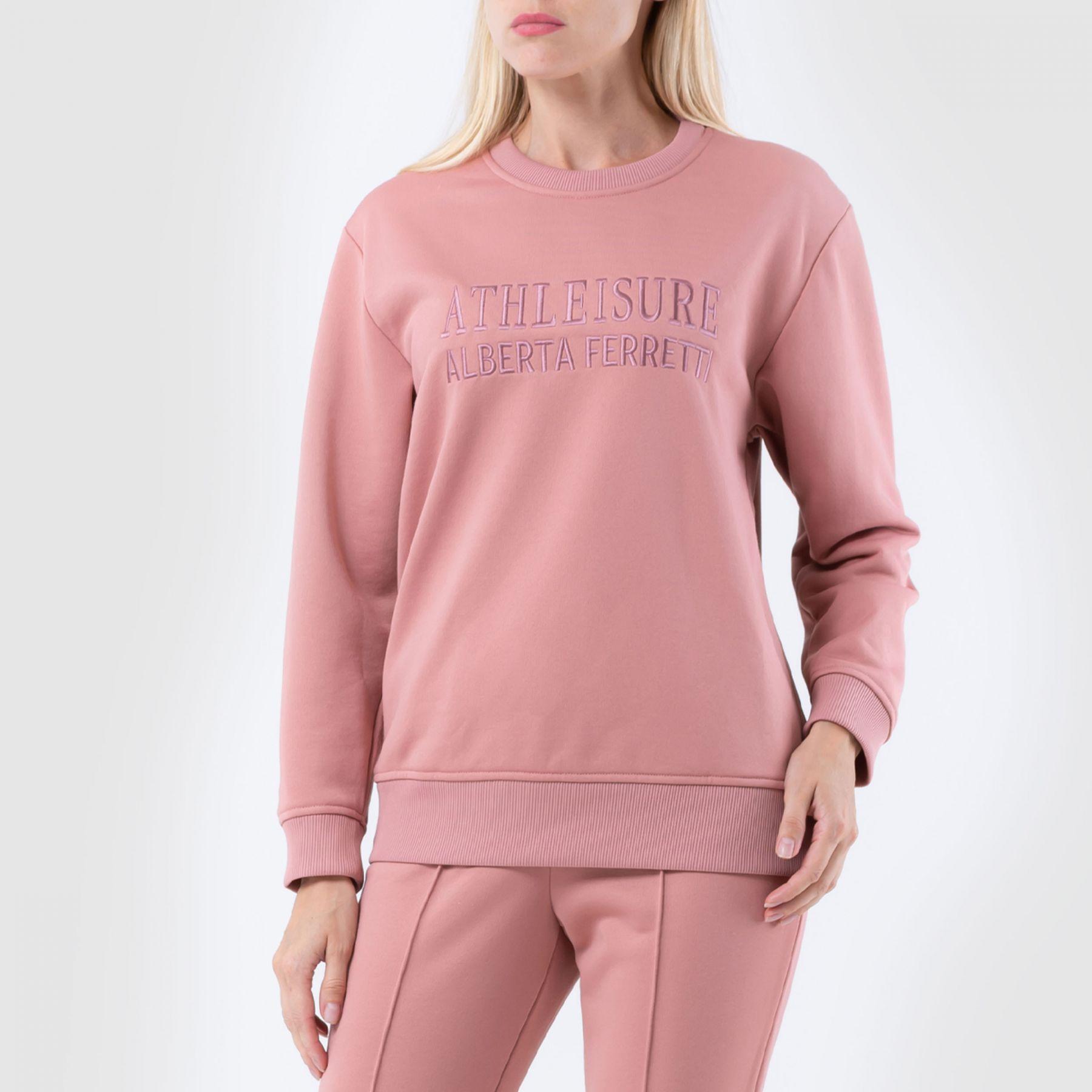 Свитшот Alberta Ferretti розовый