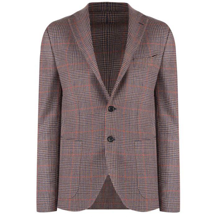 Пиджак Luigi Borrelli светло-коричневый