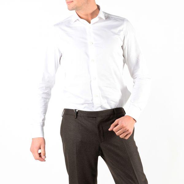 Рубашка длин.рук. Luigi Borrelli белая