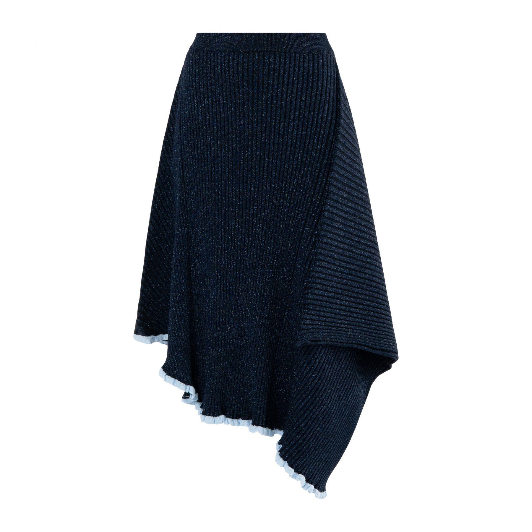 Юбка J.W.Anderson темно-синяя