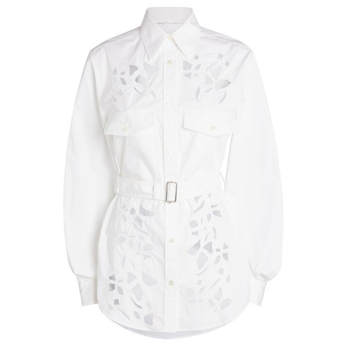Рубашка с длинными рукавами J.W.Anderson белая
