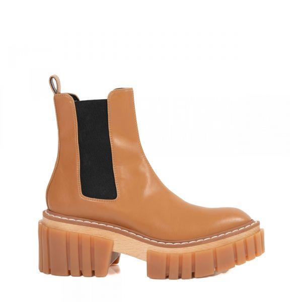 Ботинки Stella McCartney Emilie коричневые
