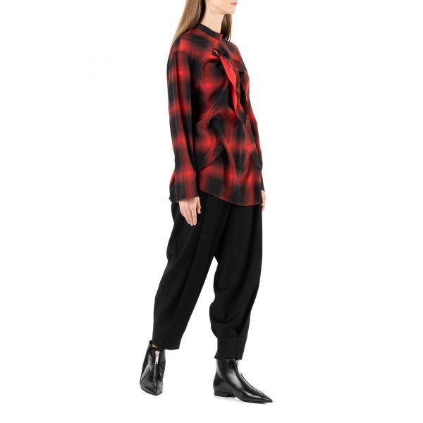 Ботинки флет Stella McCartney Zipit черные