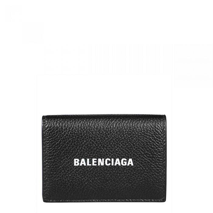 Портмоне Balenciaga черно-белое