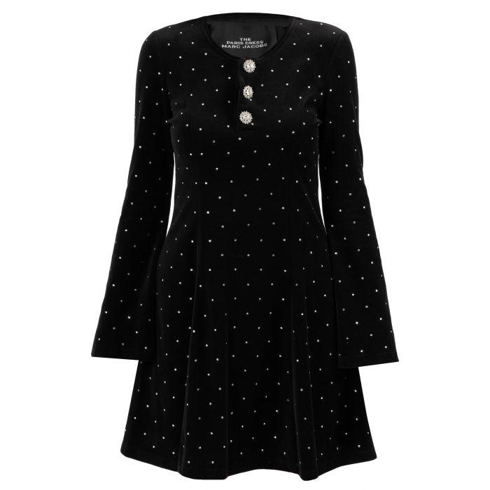 Платье Marc Jacobs The Paris черное
