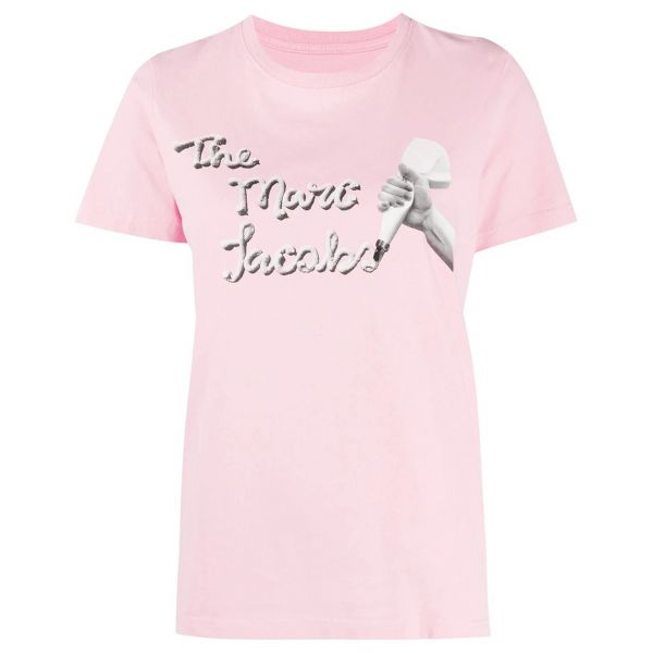 Футболка Marc Jacobs розовая