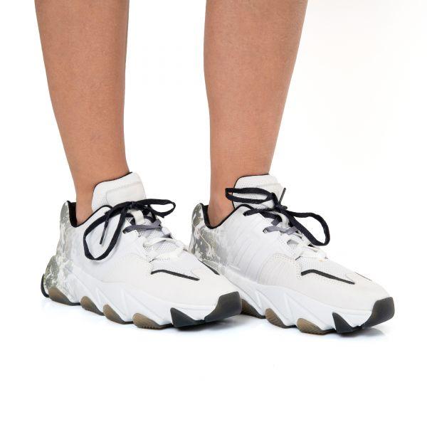 Кроссовки ASH EXTASY белые