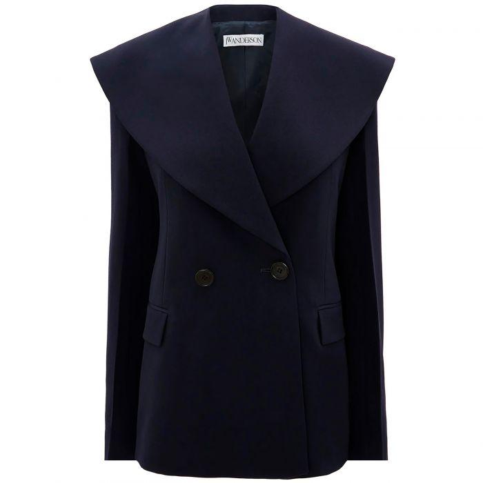 Пиджак J.W.Anderson темно-синий