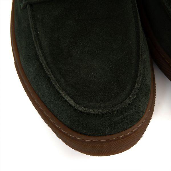 Лоферы Barrett темно-зеленые