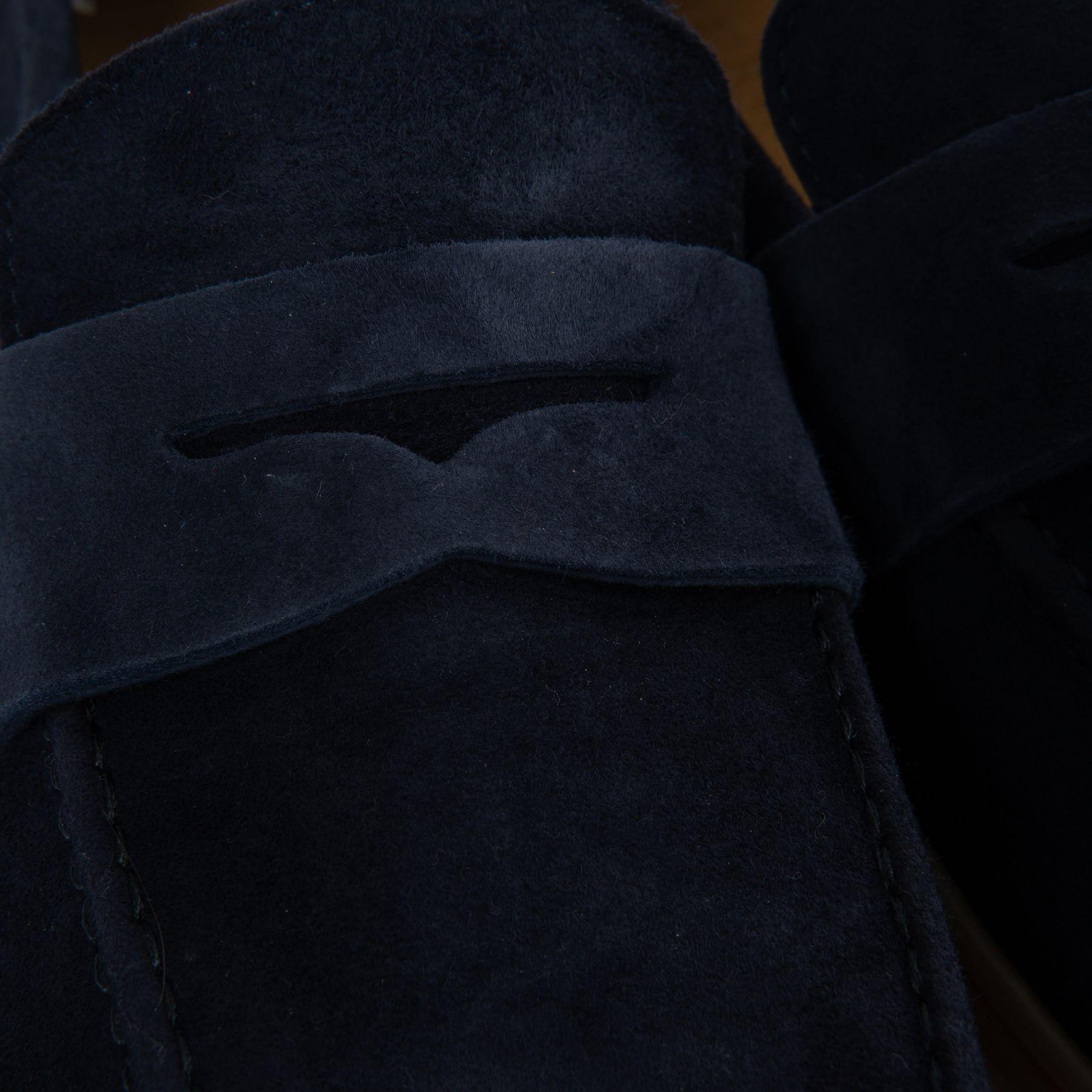 Лоферы Barrett темно-синие