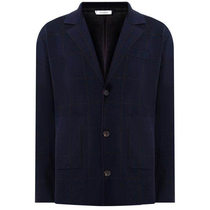 Пиджак Cruciani темно-синий