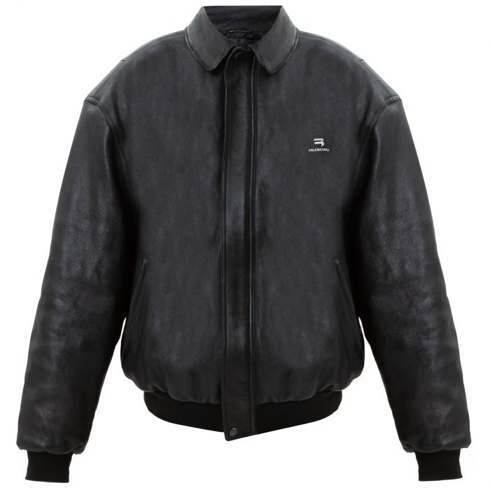 Куртка Balenciaga SPORTY B TAXI черная