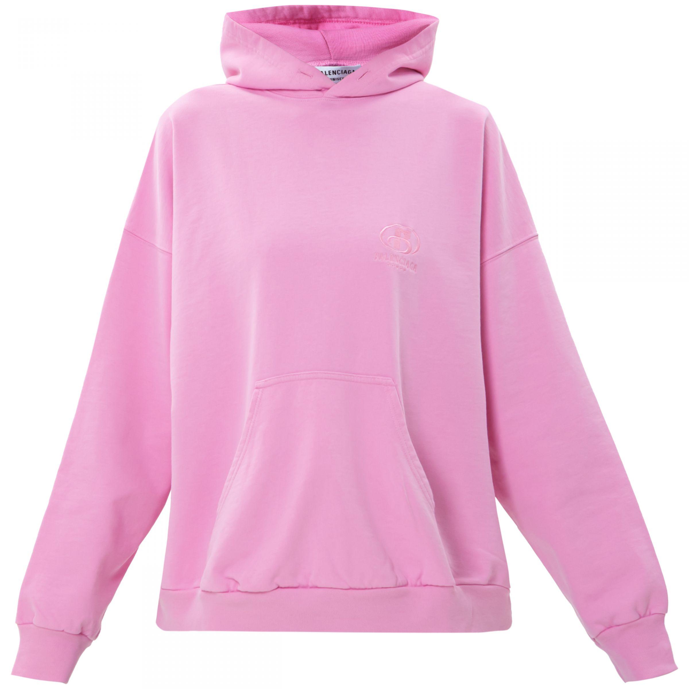 Худи Balenciaga SPA розовое
