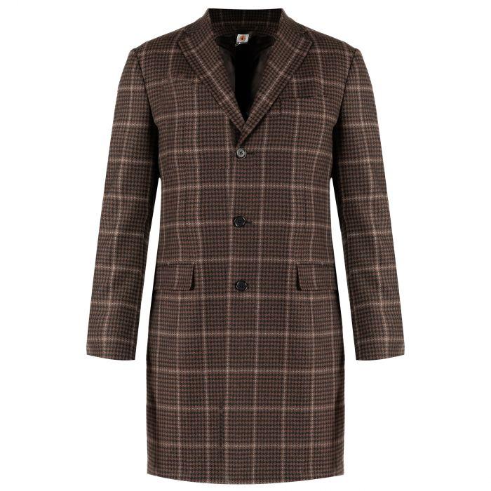 Пальто Luigi Borrelli коричневое