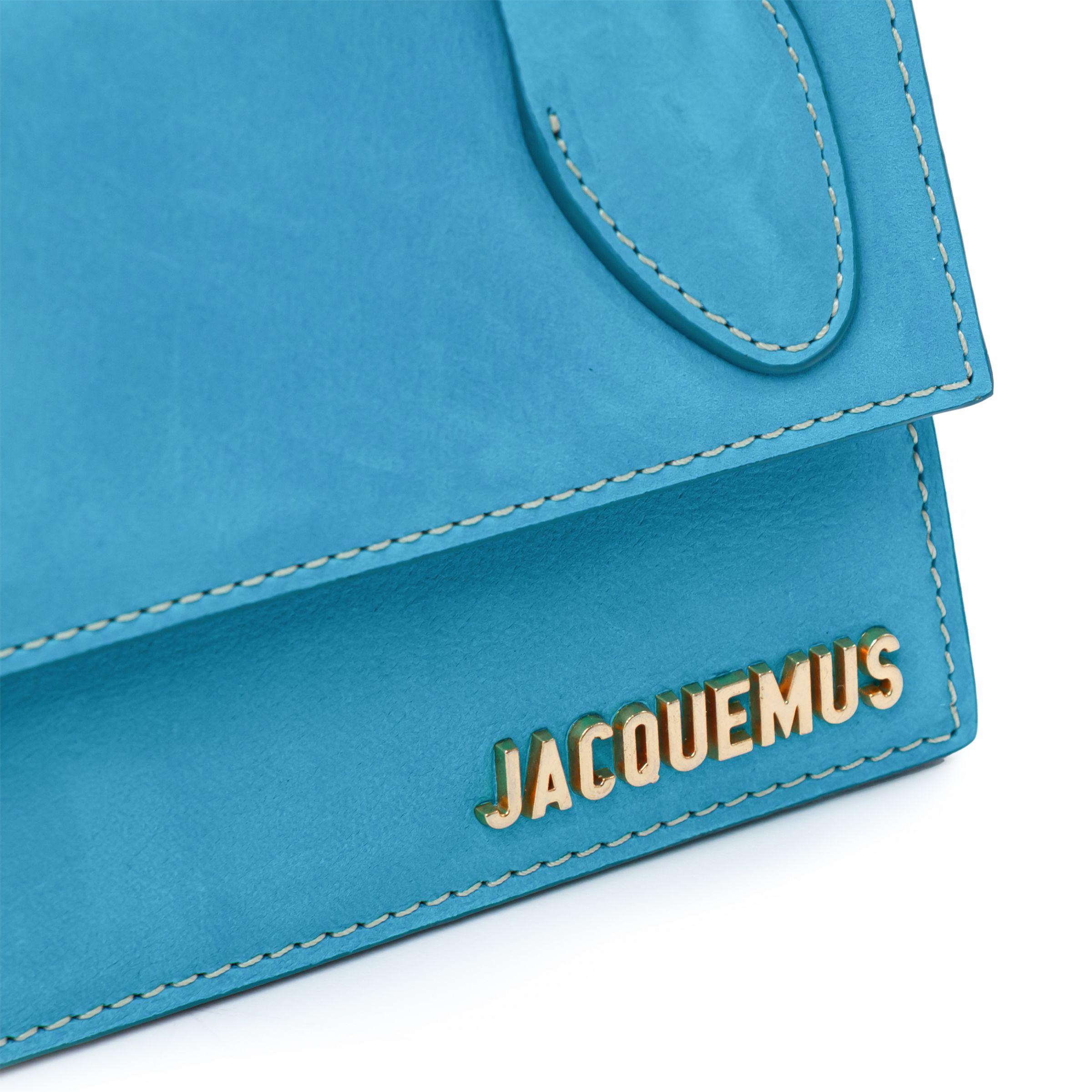 Сумка Jacquemus Le Chiquito Long голубая