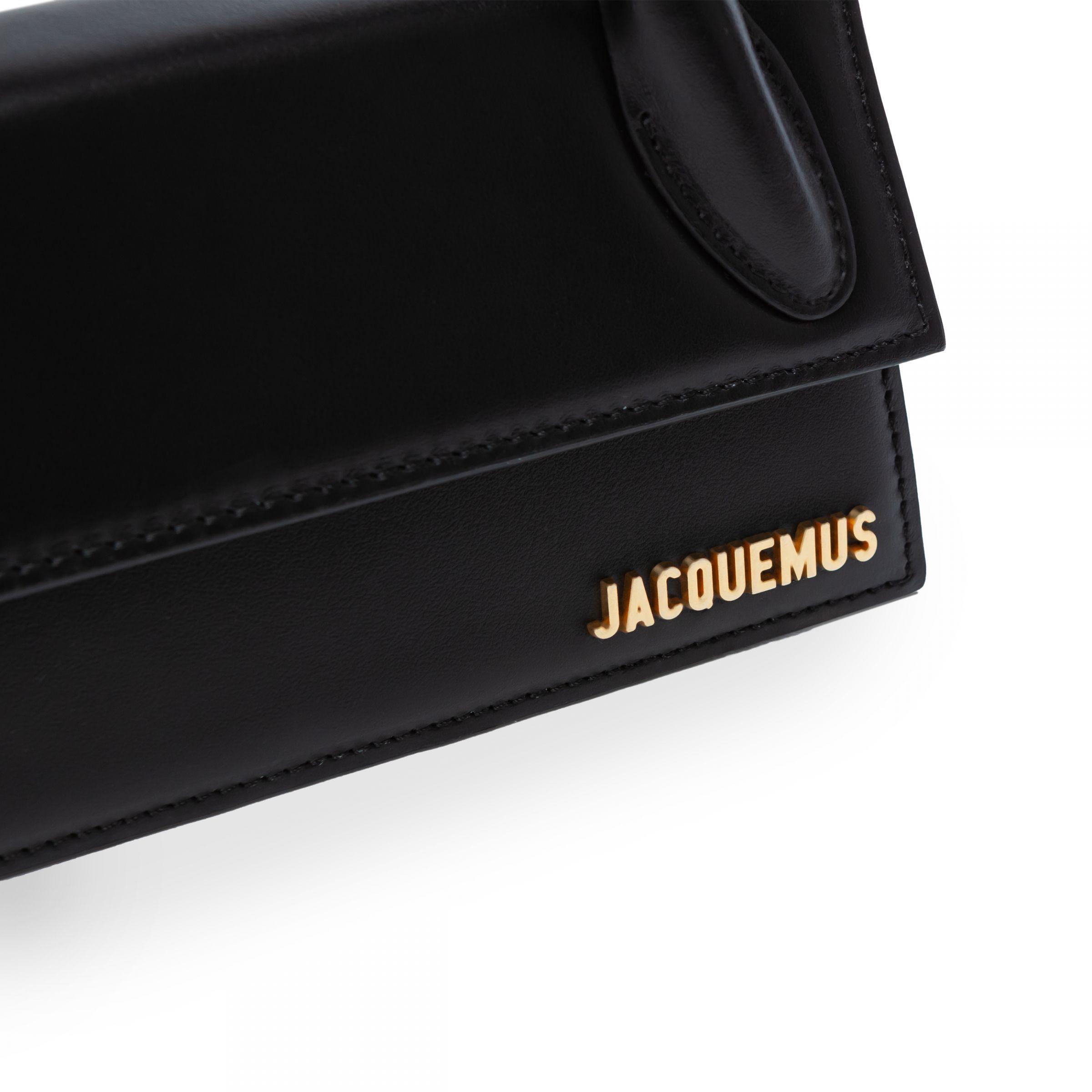 Сумка Jacquemus Le Chiquito Long черная