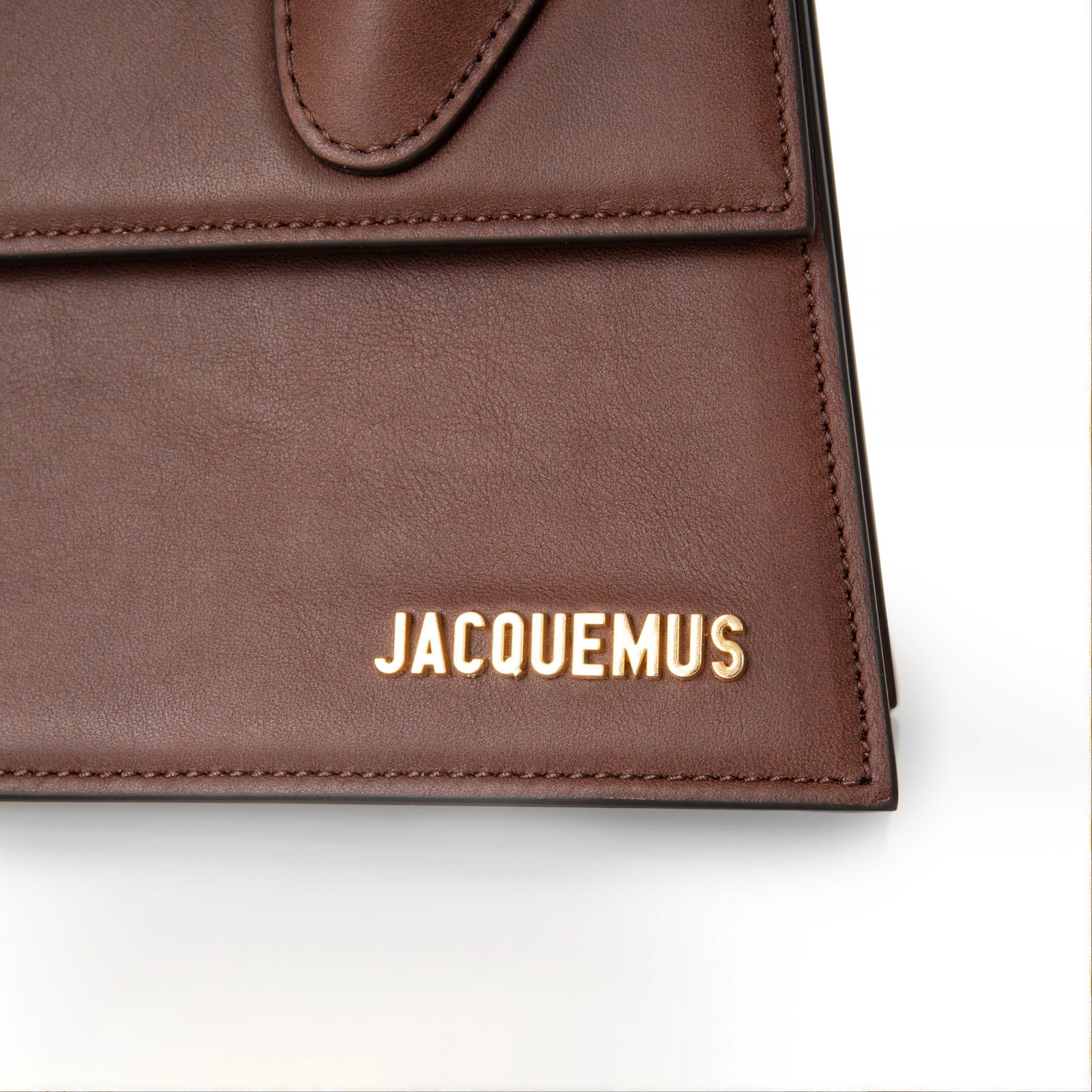 Сумка Jacquemus Le grand Chiquito коричневая