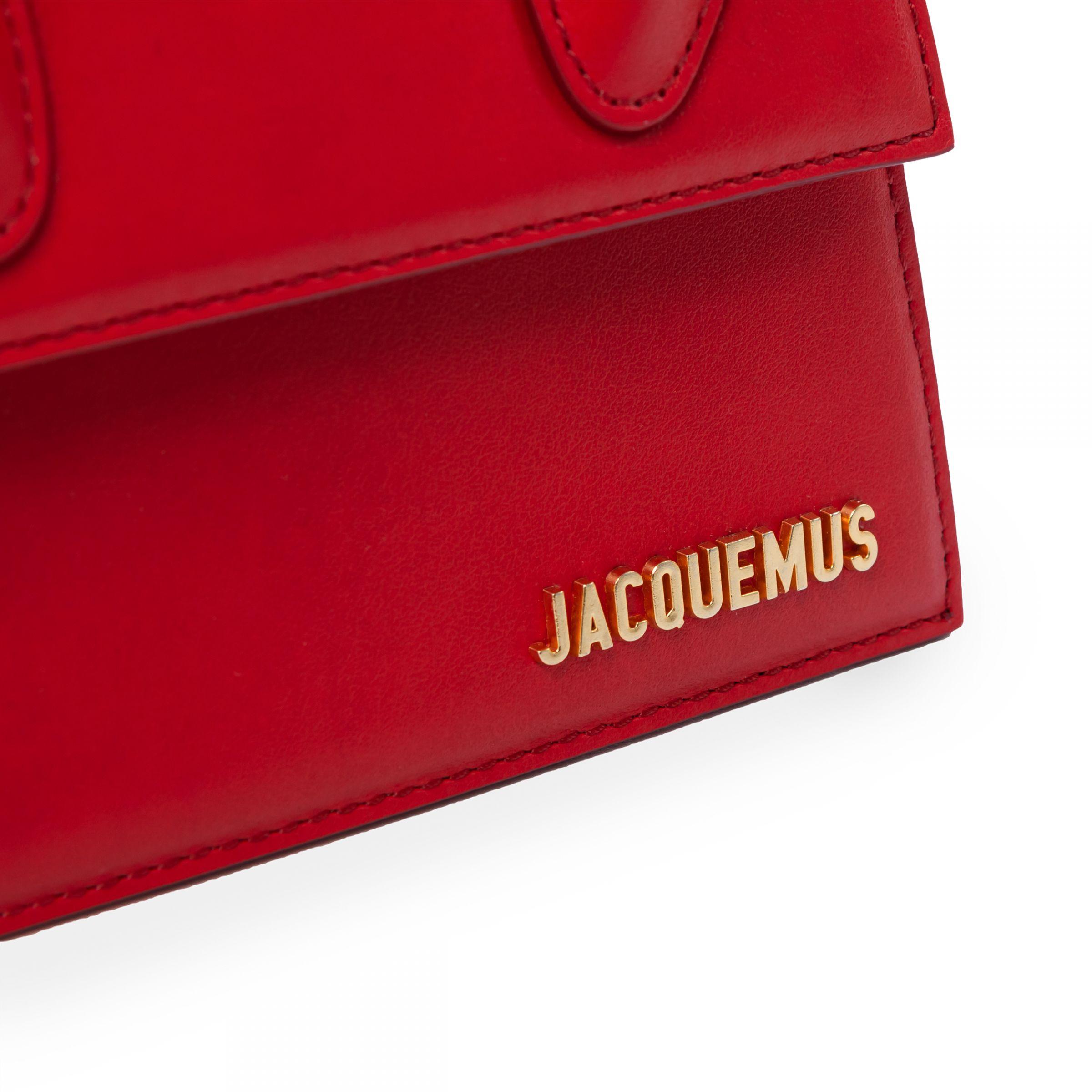 Сумка Jacquemus Le Chiquito Moyen красная