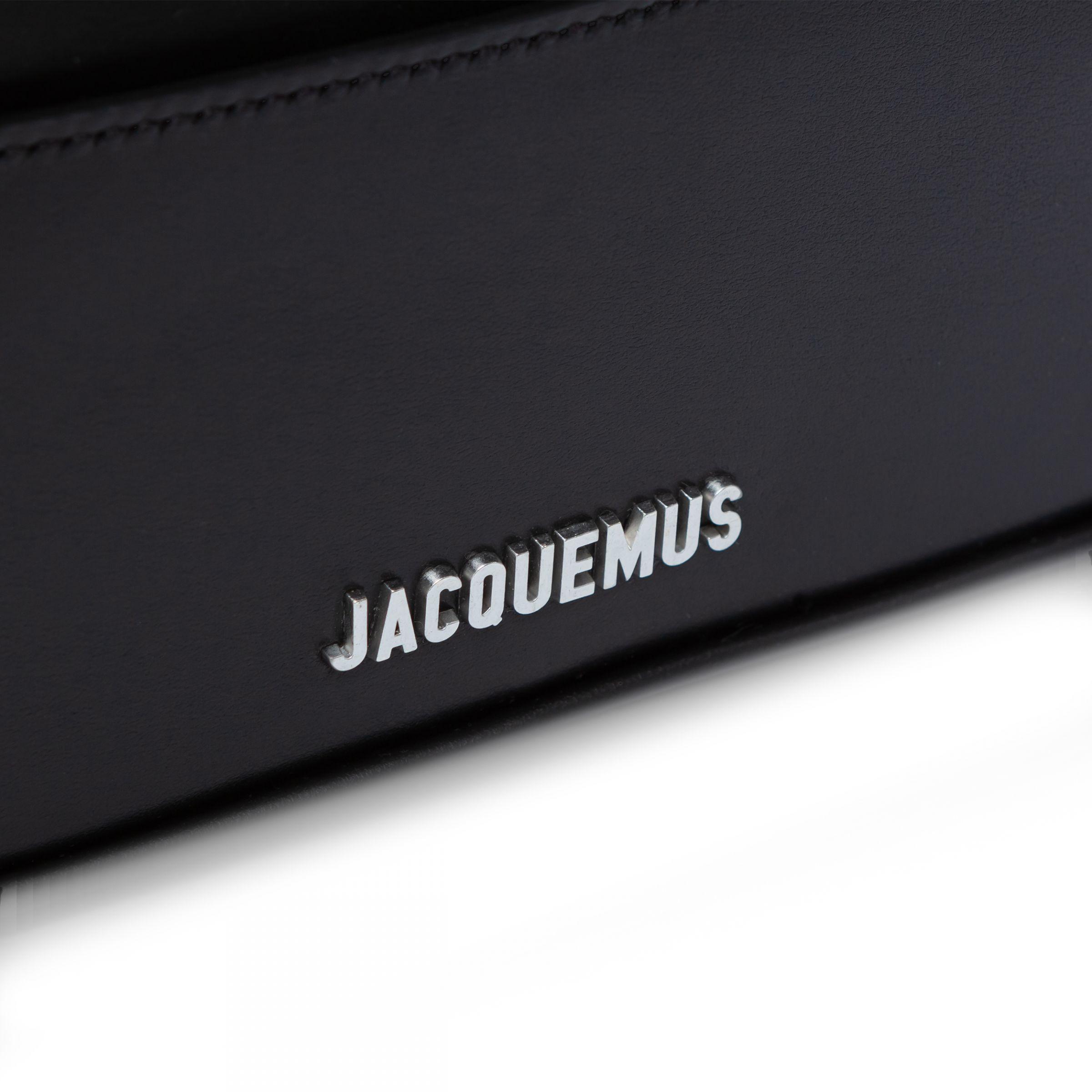 Сумка Jacquemus Le Baneto черная