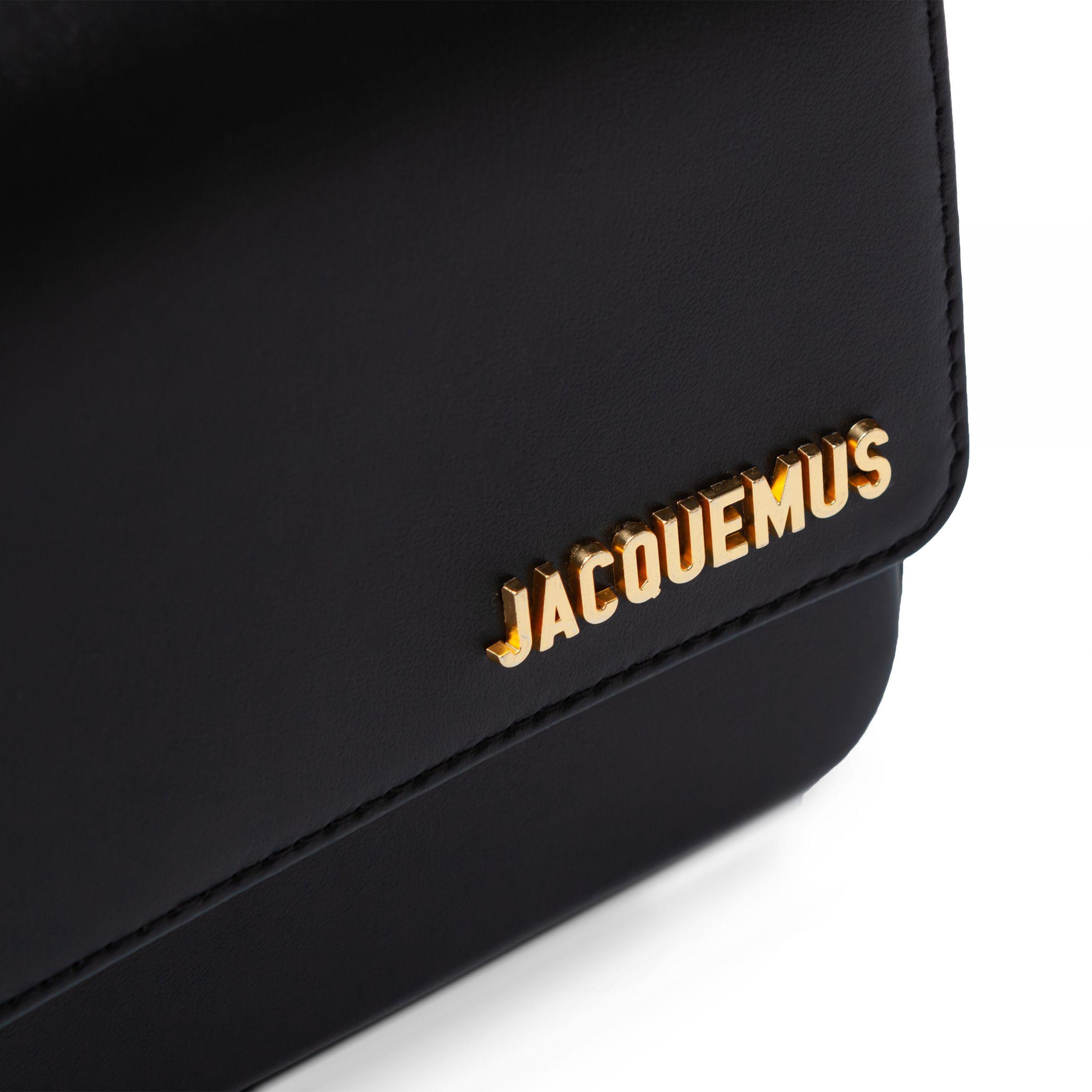 Сумка Jacquemus Le Carinu черная