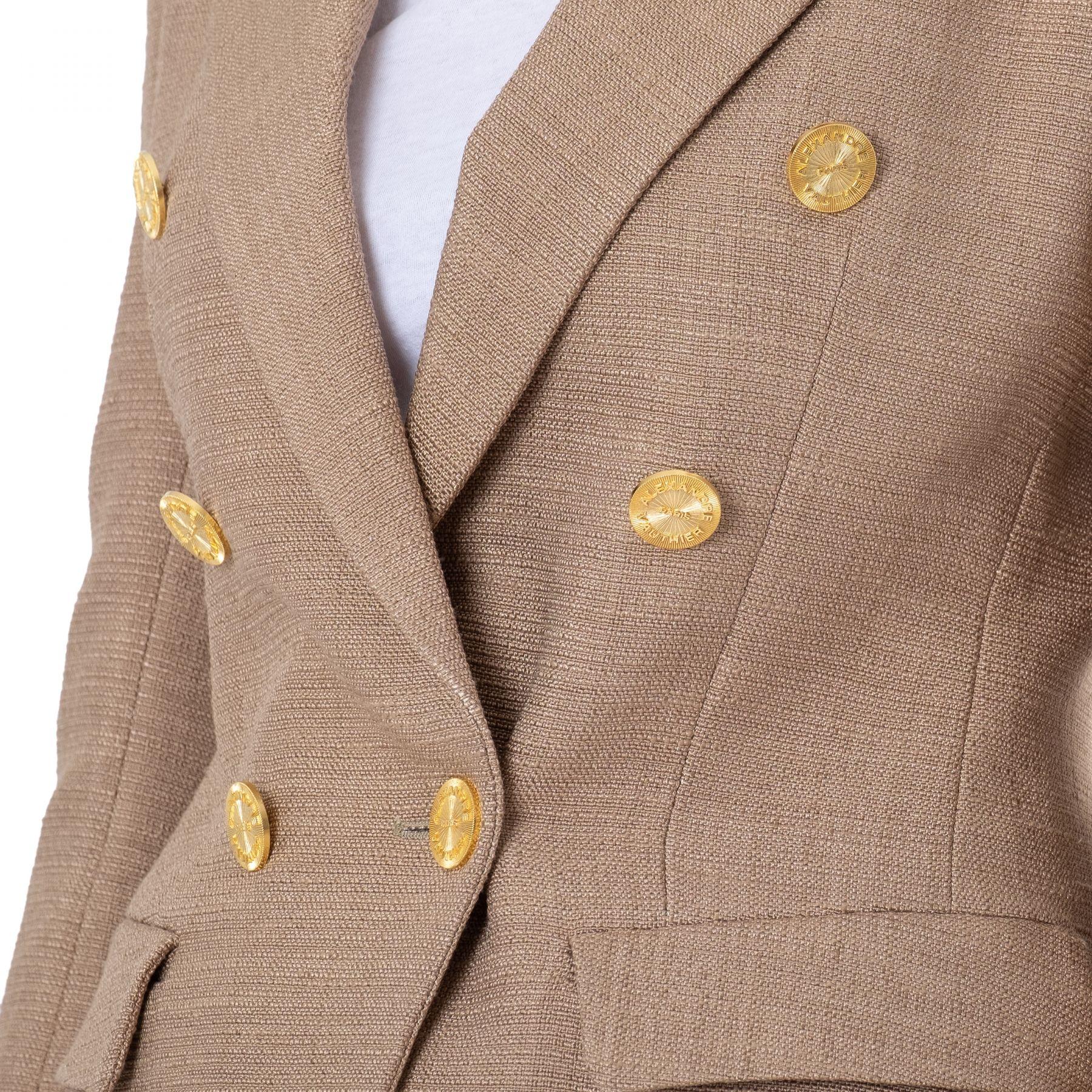 Пиджак Alexandre Vauthier коричневый