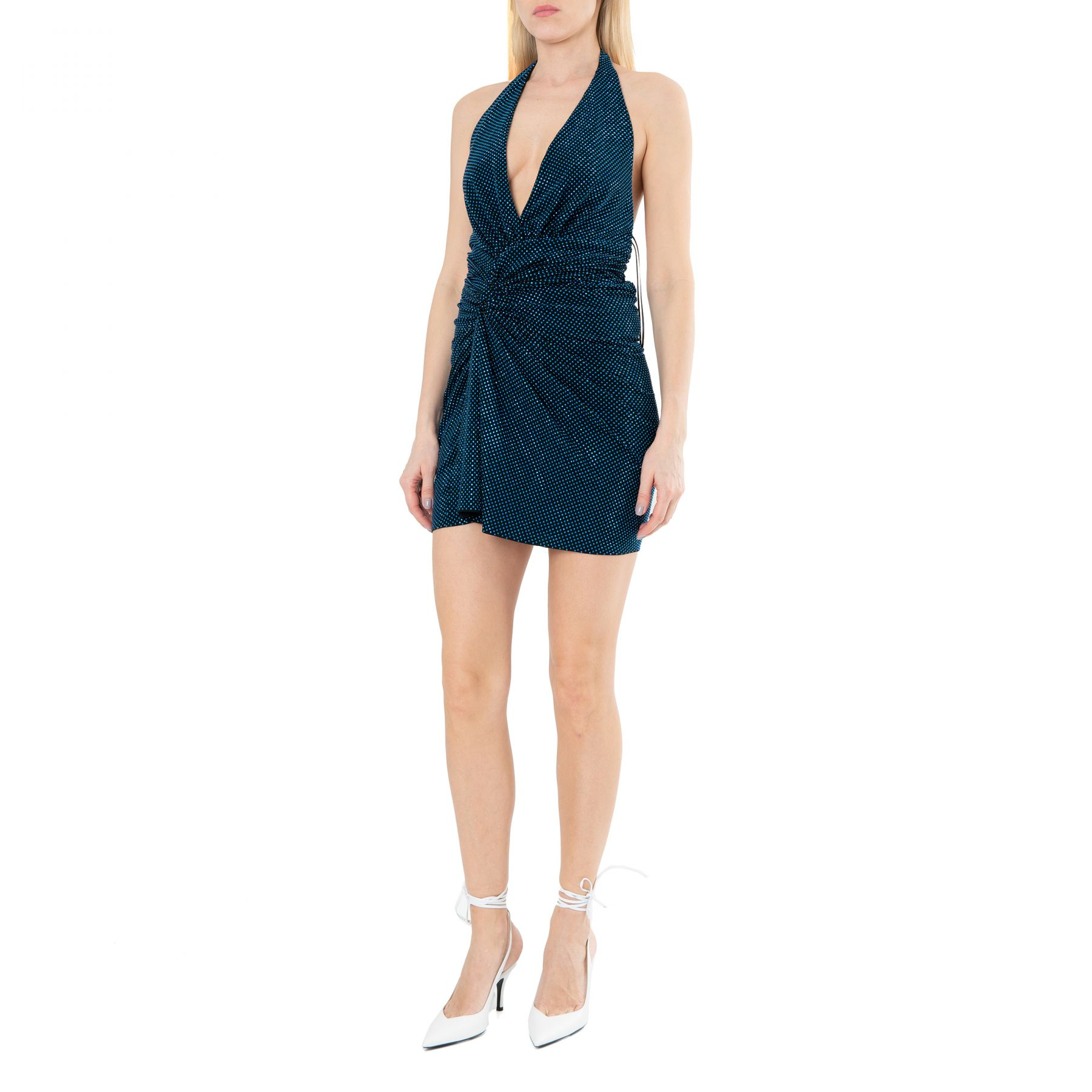 Платье Alexandre Vauthier голубое