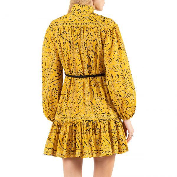 Платье Zimmermann LULU желтое