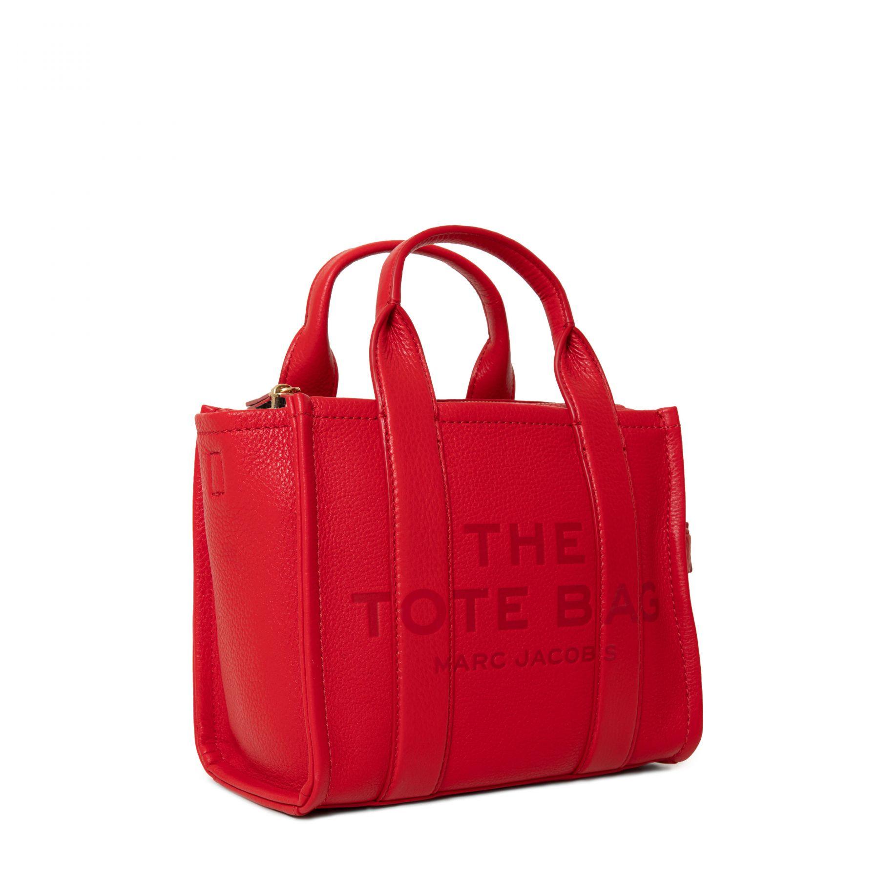 Сумка Marc Jacobs THE TOTE BAG красная