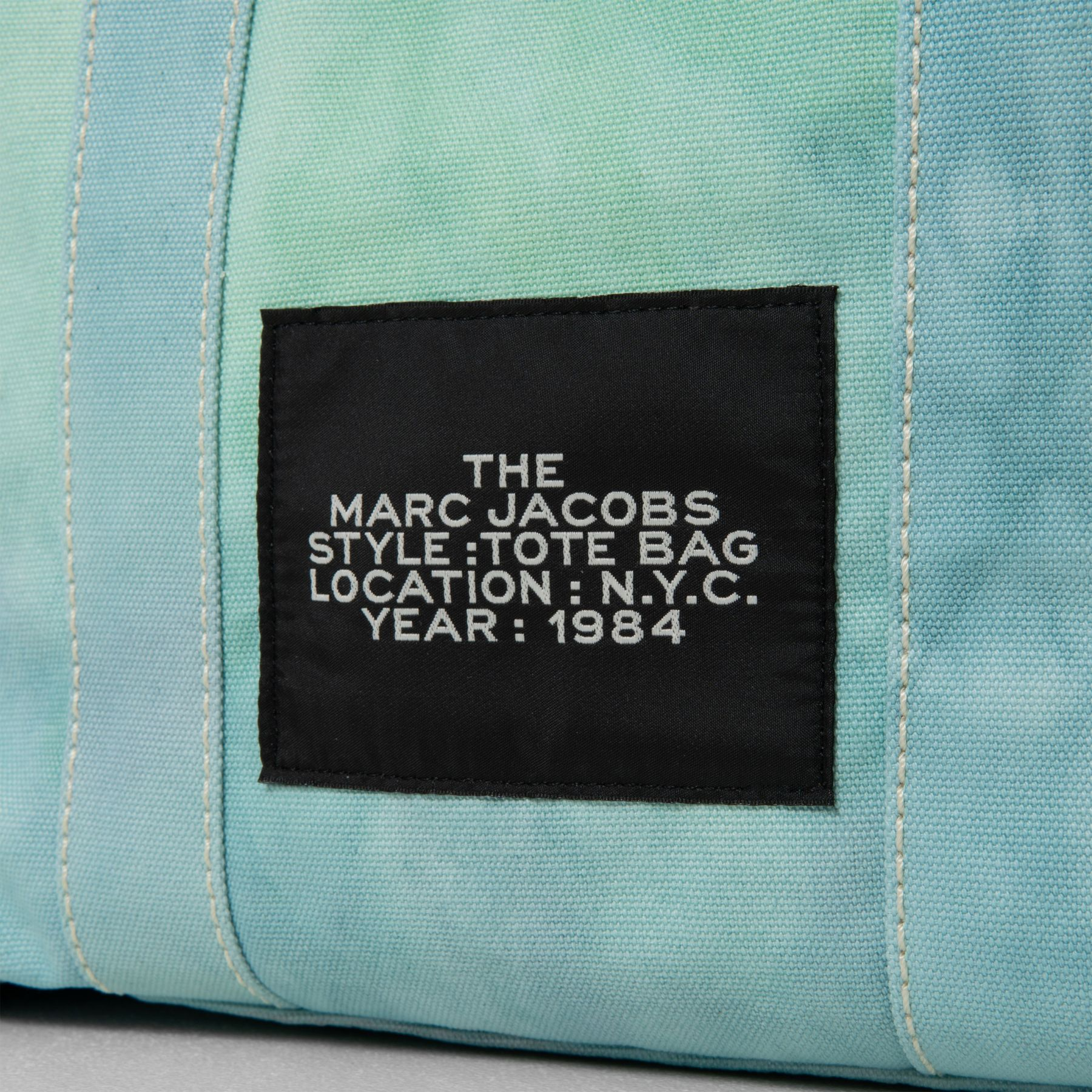 Сумка Marc Jacobs THE TIE DYE TOTE BAG голубая