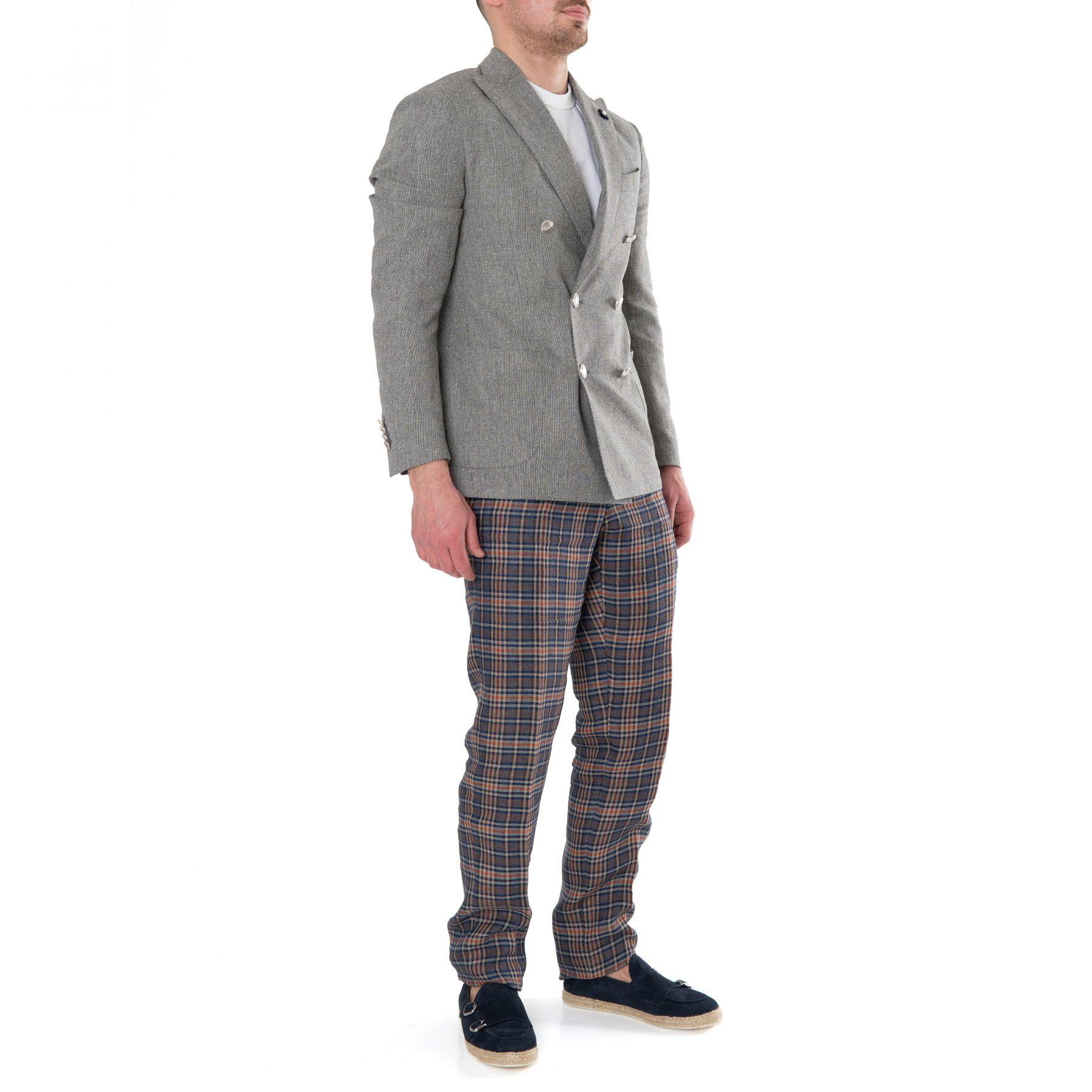 Пиджак Lardini серый
