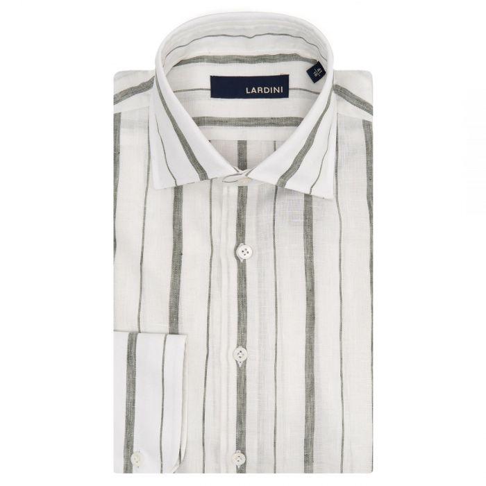 Рубашка с длинными рукавами Lardini белая