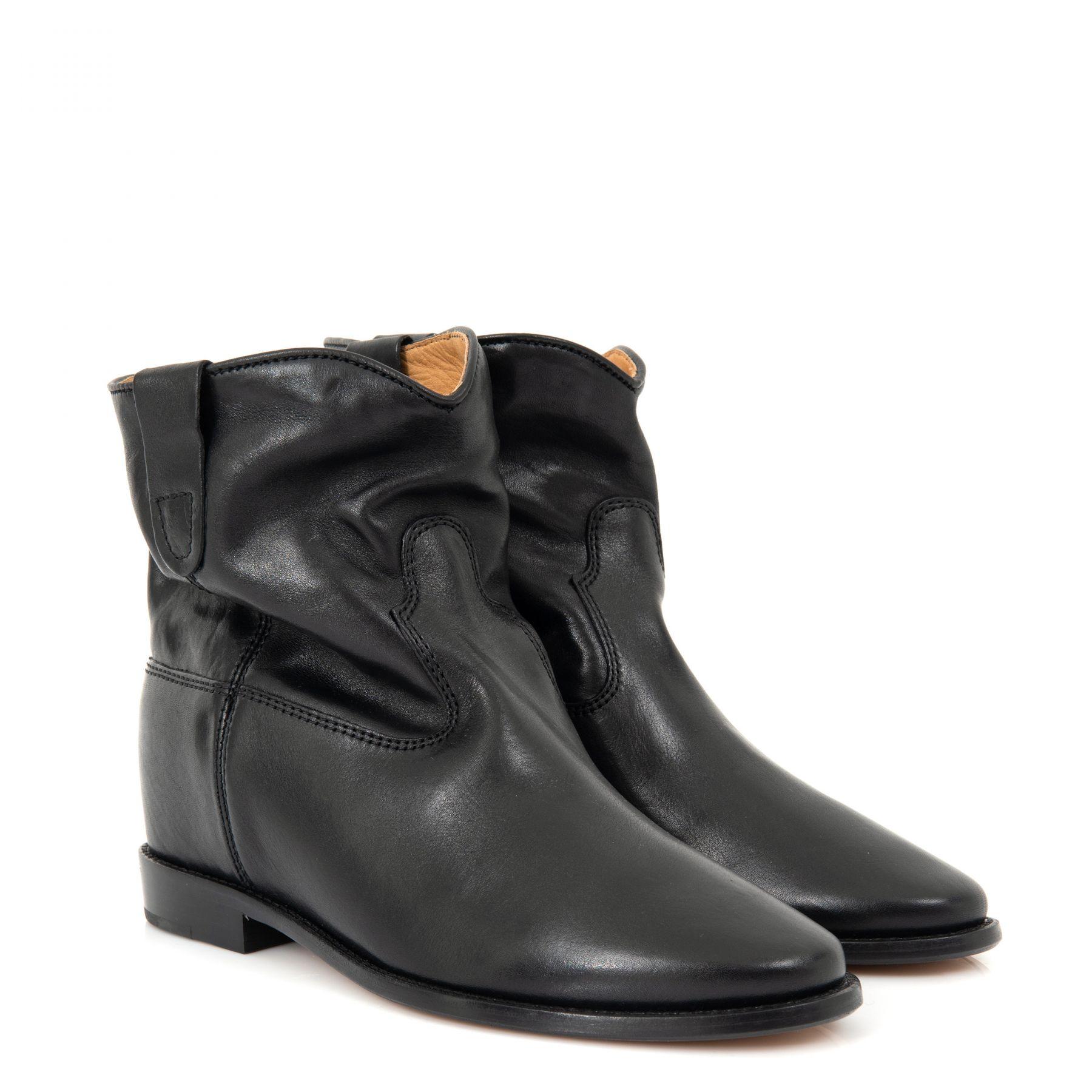 Ботинки Isabel Marant Crisi черные