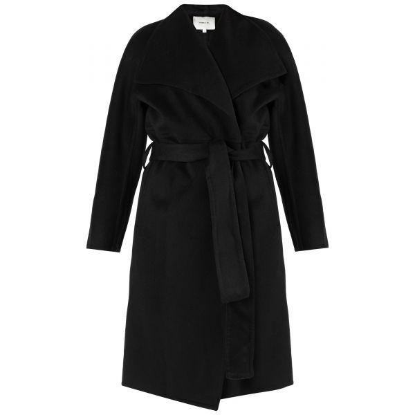 Пальто Vince черное