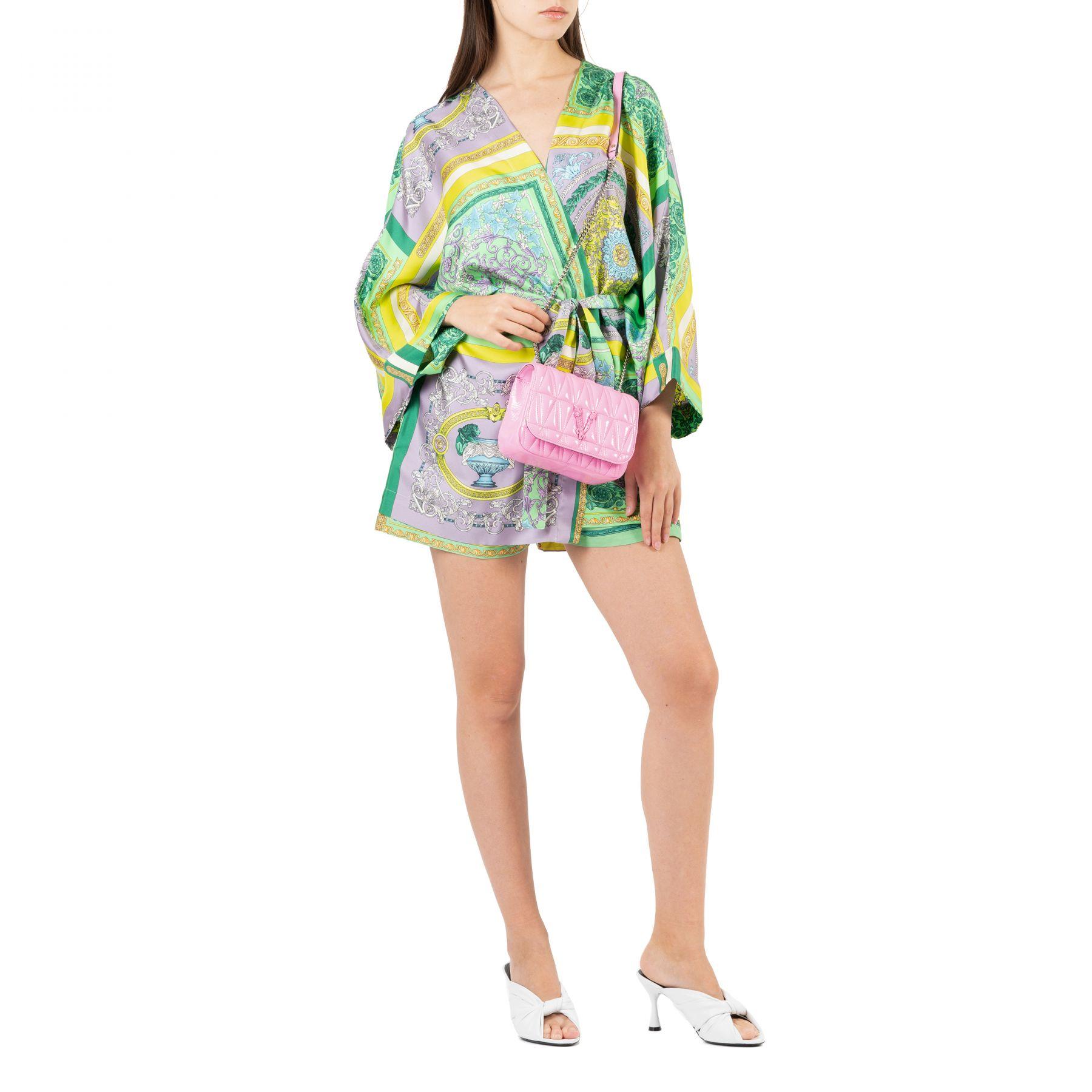 Накидка Versace разноцветная