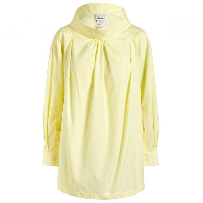 Рубашка с длинными рукавами 3.1 Phillip Lim 3.1 Phillip Lim лимонная