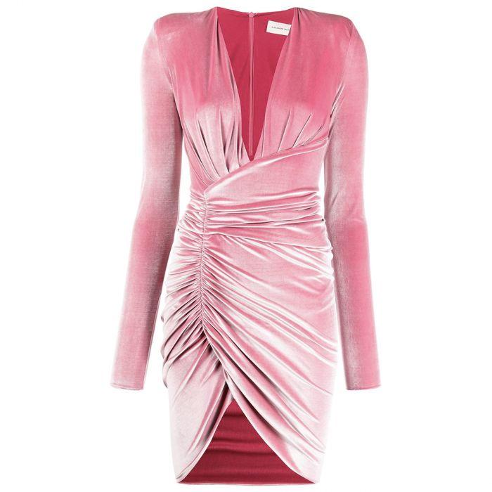Платье Alexandre Vauthier розовое