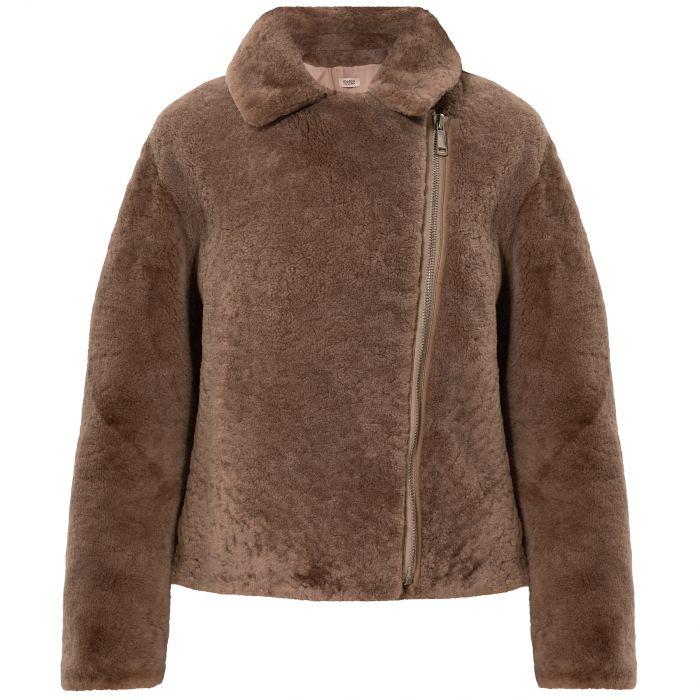 Куртка Yves Salomon коричневая