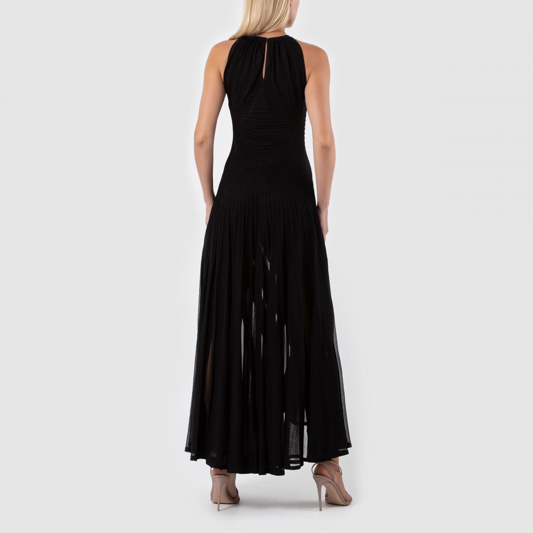 Платье Alaia черное