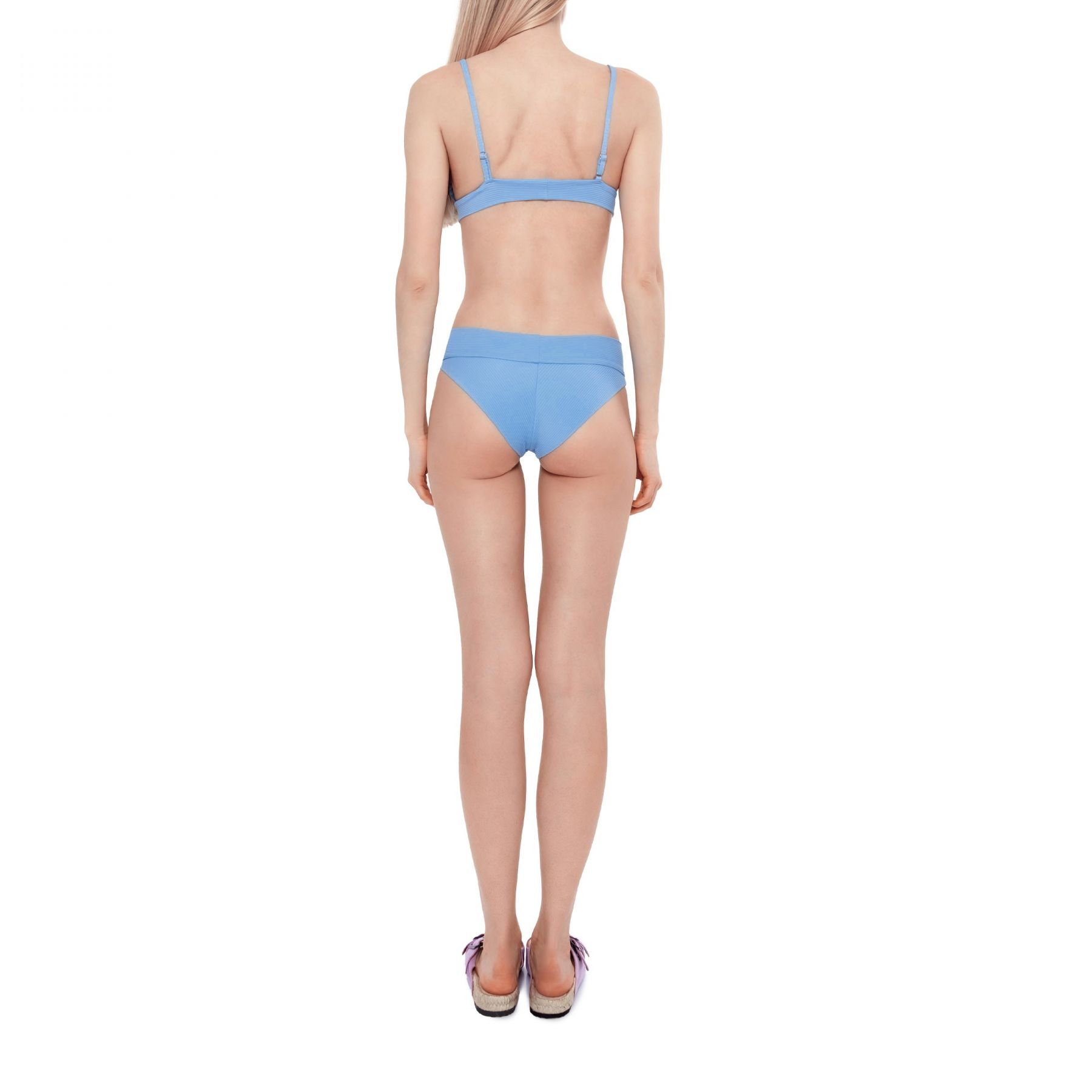 Лиф Frankie's Bikinis Gavin голубой