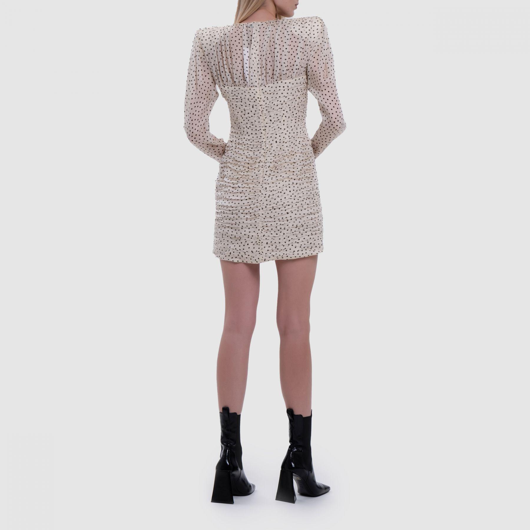 Платье Magda Butrym кремовое