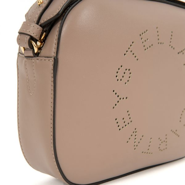 Сумка Stella McCartney Stella Logo Mini Bag кофейная