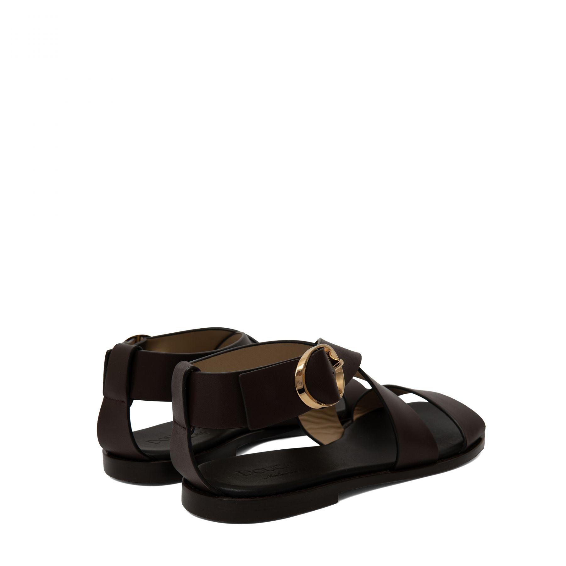 Сандалии Doucal's темно-коричневые