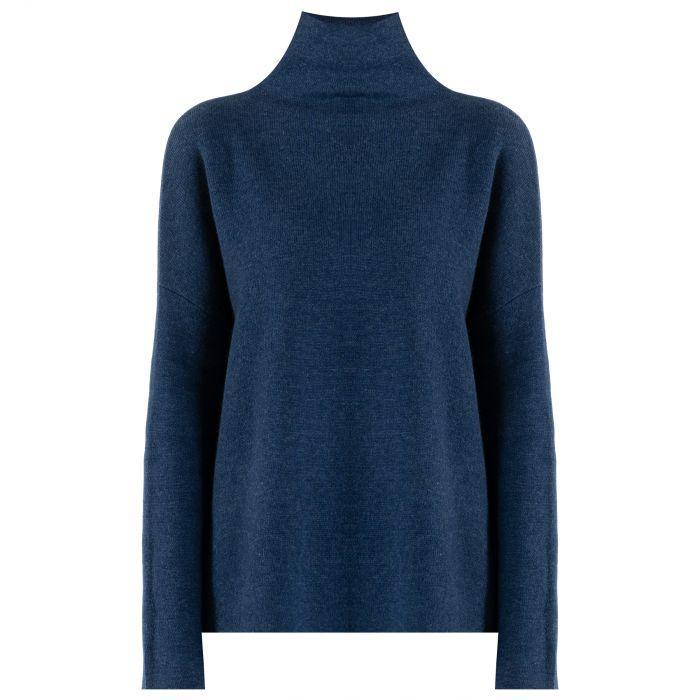Пуловер Vince синий