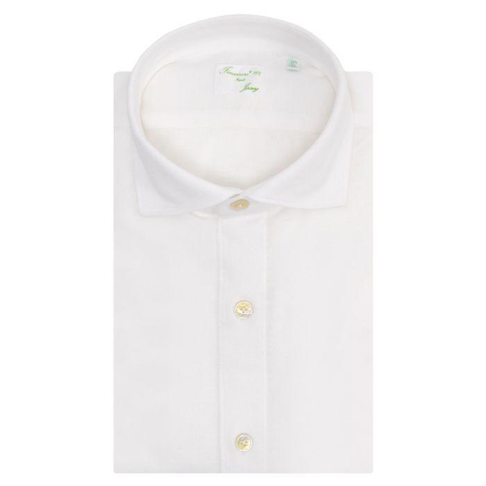 Рубашка с длинными рукавами Finamore молочная