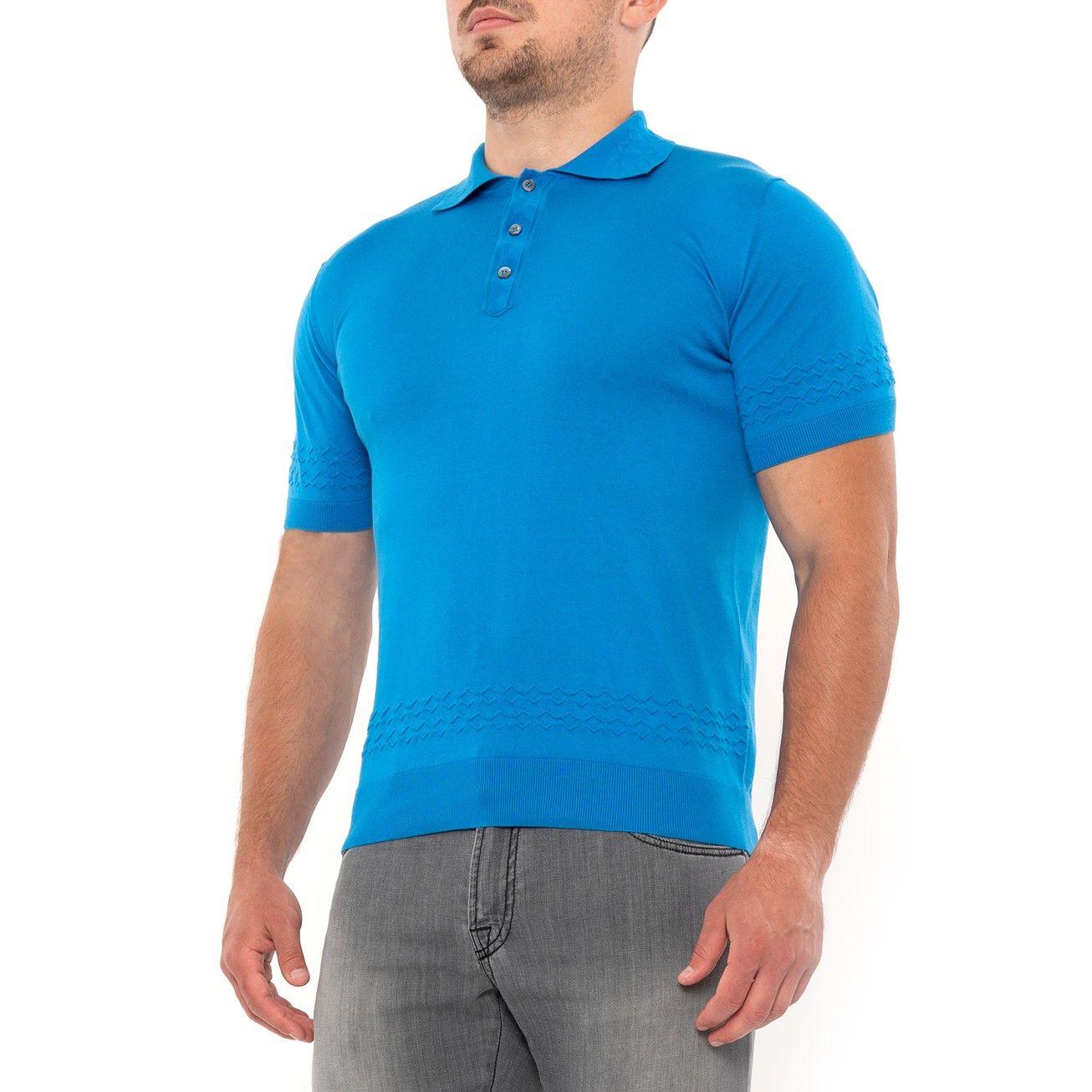 Поло Pashmere голубое