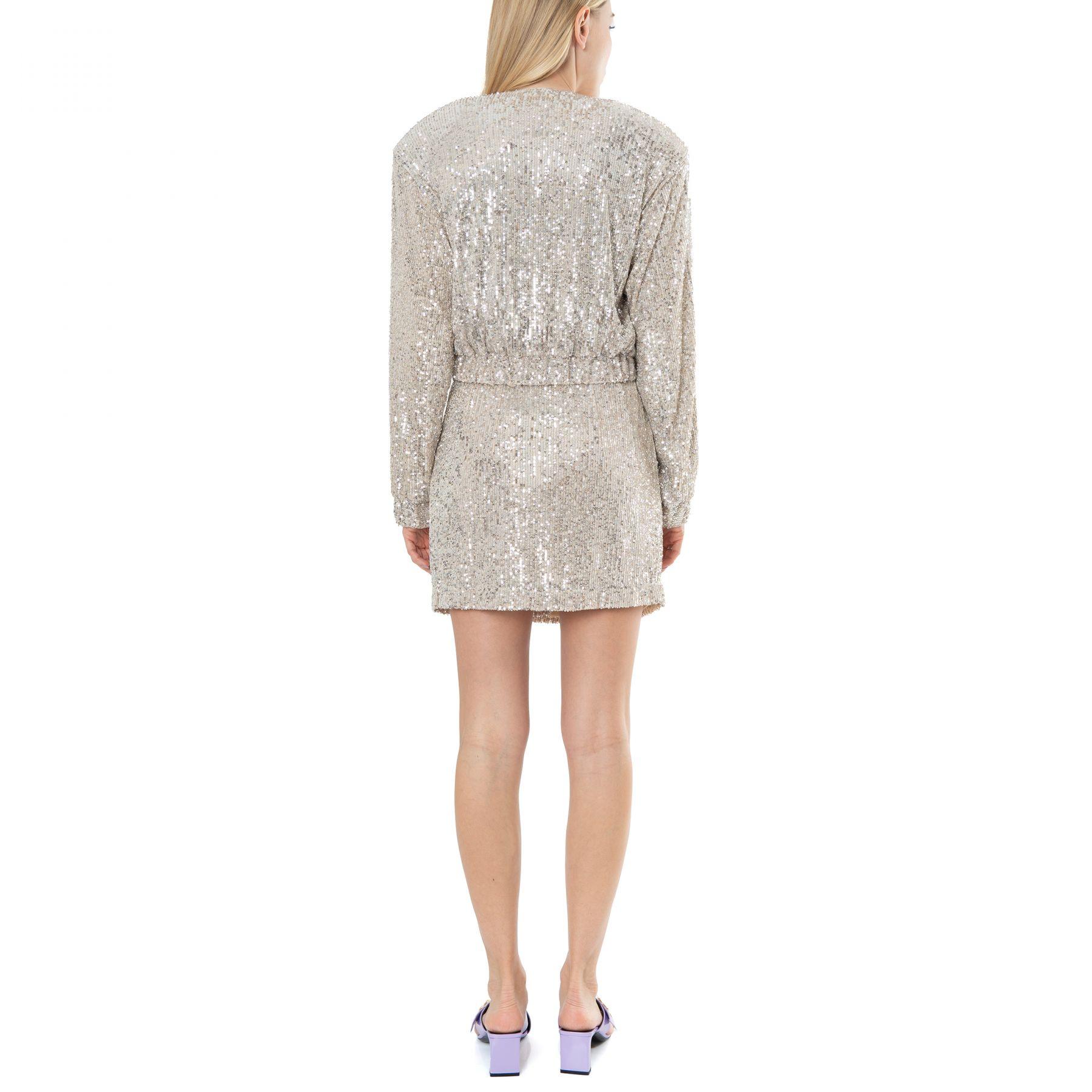 Пиджак Rotate Judy серебряный