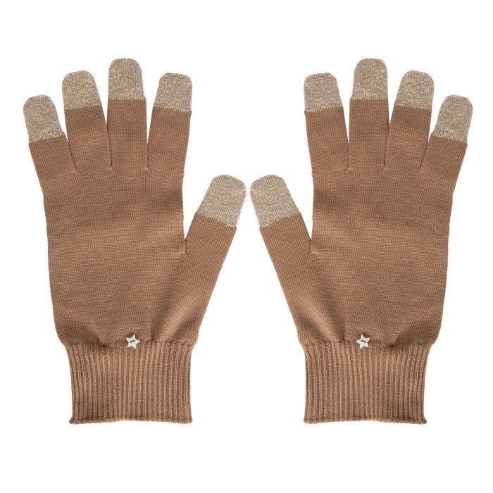 Перчатки Lorena Antoniazzi коричневые