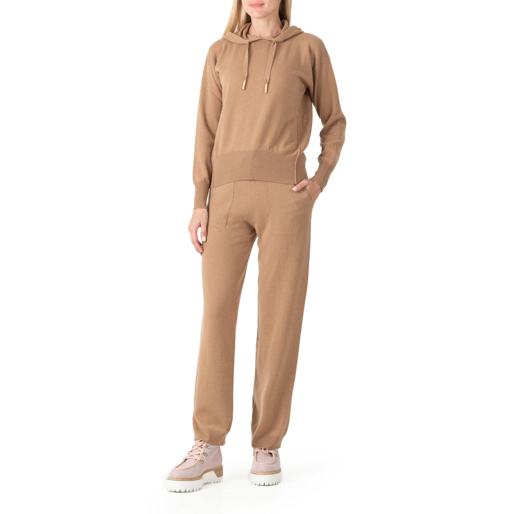 Спортивные брюки Lorena Antoniazzi бежевые