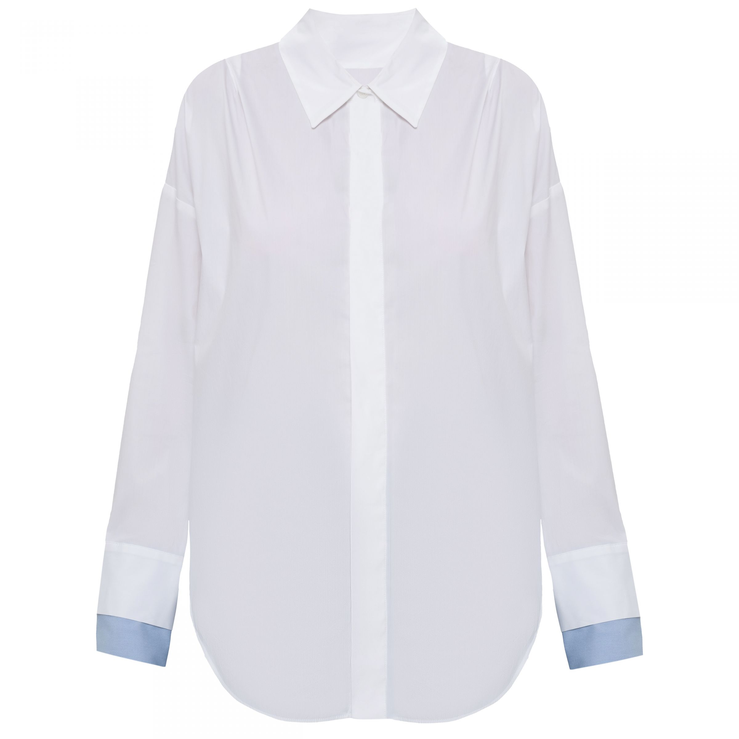 Рубашка с длинными рукавами Lorena Antoniazzi белая
