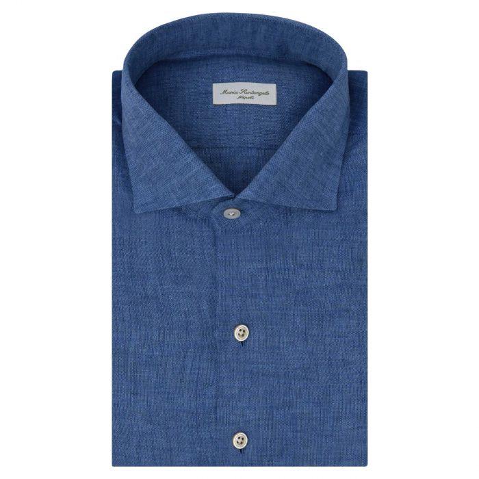 Рубашка с длинными рукавами Maria Santangelo синяя